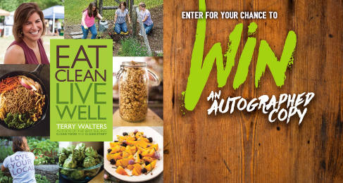 'Eat Clean Live Well' Book Giveaway