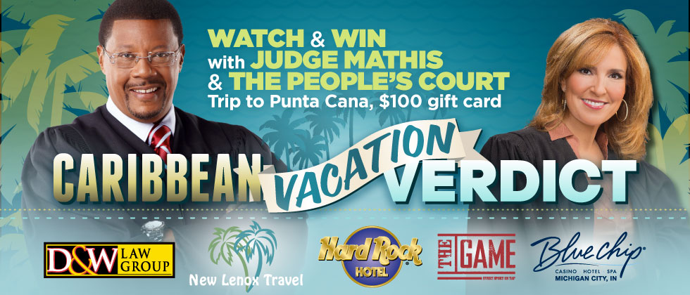 Court Caribbean Vacation Watch & Win