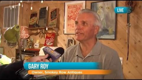 Around The Block In Lemont At The Smokey Row Antique