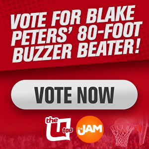 Vote For Blake Peters' 80-Foot Buzzer Beater - VOTE NOW!